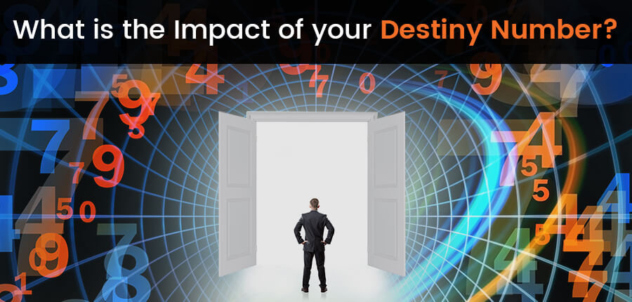 What is the Impact of your destiny number?