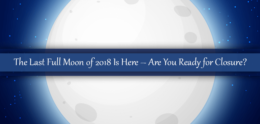 Are You Ready To Wrap It Up With The Last Full Moon of 2018